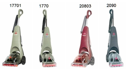 Bissell Quick Steamer Models