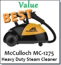 McCulloch - The Best Value Steam Cleaner