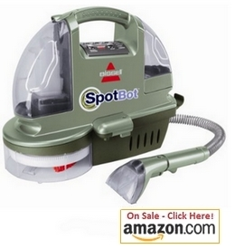Bissell SpotBot Hands Free Compact Deep Carpet Cleaner, 1200B