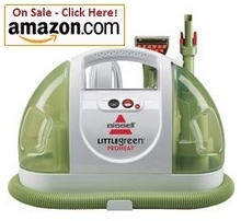 Bissell's Little Green Proheat carpet cleaner