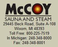 McCoy Sauna and Steam
