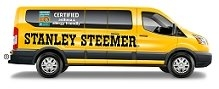 Stanley Steemer Yellow Van
