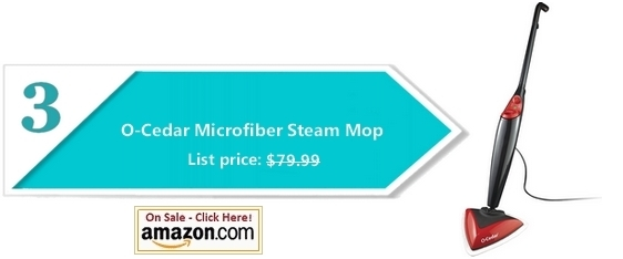 Steam mop - O-Cedar Microfiber Steam Mop